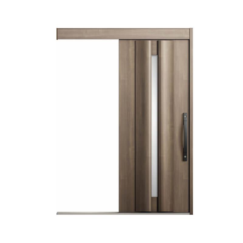 【5月はエントリーでP10倍】玄関引戸 リクシル エルムーブ2 L13型 一本引き 本体鋼板仕様 呼称W166 W1660×H2150mm 玄関引き戸 LIXIL/TOSTEM トステム 玄関ドア サッシ リフォーム DIY kenzai