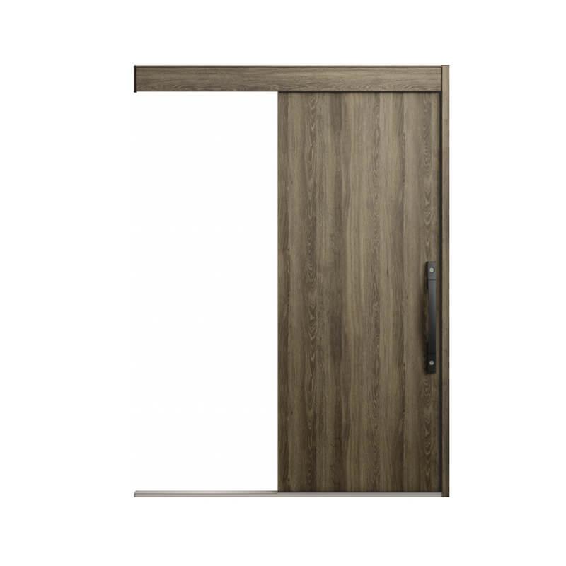 LIXIL リクシル 玄関引き戸 定価 スライディングドア エルムーブ2 玄関引戸 L15型 木目枠 一本引き 本体鋼板仕様 トステム TOSTEM サッシ 玄関ドア 呼称W166 DIY W1660×H2150mm kenzai NEW ARRIVAL