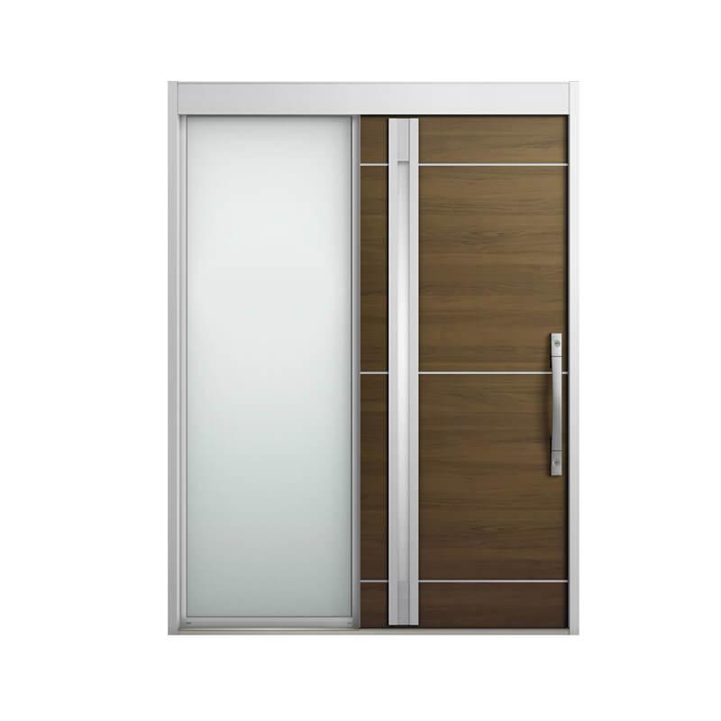 玄関引戸 リクシル エルムーブ2 L18型 片袖 本体鋼板仕様 呼称W164 W1640×H2288mm 玄関引き戸 LIXIL/TOSTEM トステム 玄関ドア サッシ リフォーム DIY kenzai