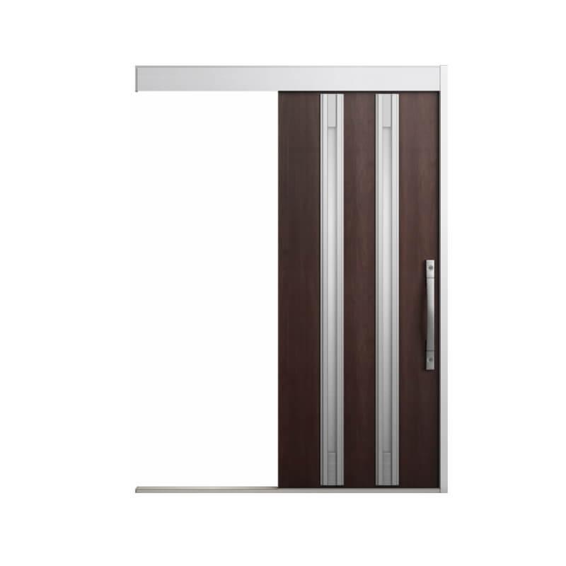 玄関引戸 リクシル エルムーブ2 L20型 一本引き 本体鋼板仕様 呼称W166 W1660×H2150mm 玄関引き戸 LIXIL/TOSTEM トステム 玄関ドア サッシ リフォーム DIY kenzai