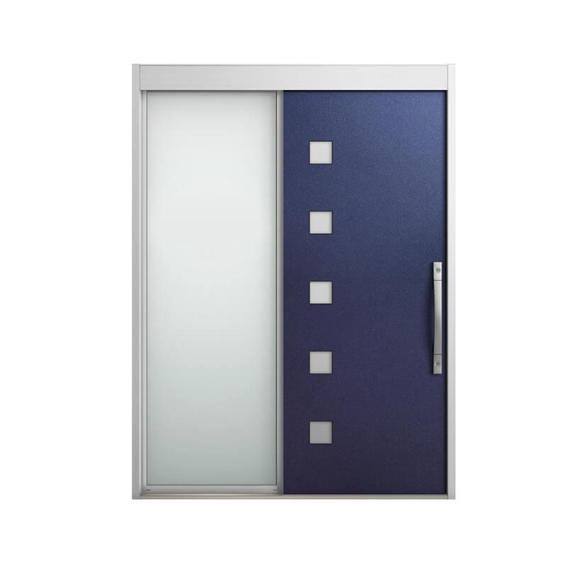 玄関引戸 リクシル エルムーブ2 L21型 片袖 本体鋼板仕様 呼称W164 W1640×H2288mm 玄関引き戸 LIXIL/TOSTEM トステム 玄関ドア サッシ リフォーム DIY kenzai