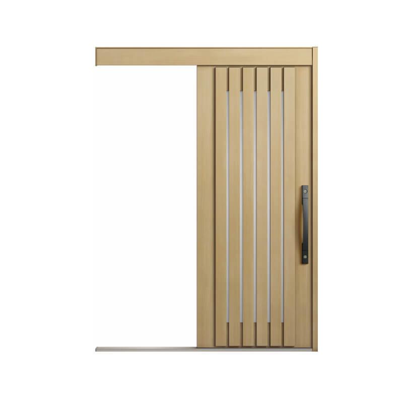【5月はエントリーでP10倍】玄関引戸 リクシル エルムーブ2 L24型 一本引き 本体鋼板仕様 呼称W166 W1660×H2150mm 玄関引き戸 LIXIL/TOSTEM トステム 玄関ドア サッシ リフォーム DIY kenzai