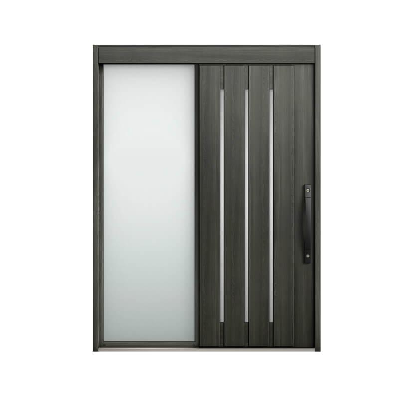 玄関引戸 リクシル エルムーブ2 L29型 片袖 本体鋼板仕様 呼称W187 W1870×H2288mm 玄関引き戸 LIXIL/TOSTEM トステム 玄関ドア サッシ リフォーム DIY kenzai