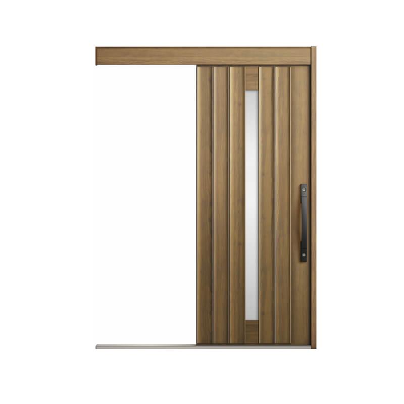 玄関引戸 リクシル エルムーブ2 L30型 一本引き 本体鋼板仕様 呼称W183 W1838×H2150mm 玄関引き戸 LIXIL/TOSTEM トステム 玄関ドア サッシ リフォーム DIY kenzai