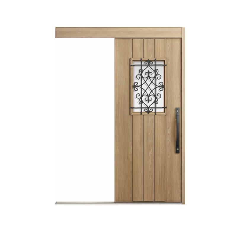 玄関引戸 リクシル エルムーブ2 L61型 一本引き 本体鋼板仕様 呼称W160 W1608×H2150mm 玄関引き戸 LIXIL/TOSTEM トステム 玄関ドア サッシ リフォーム DIY kenzai