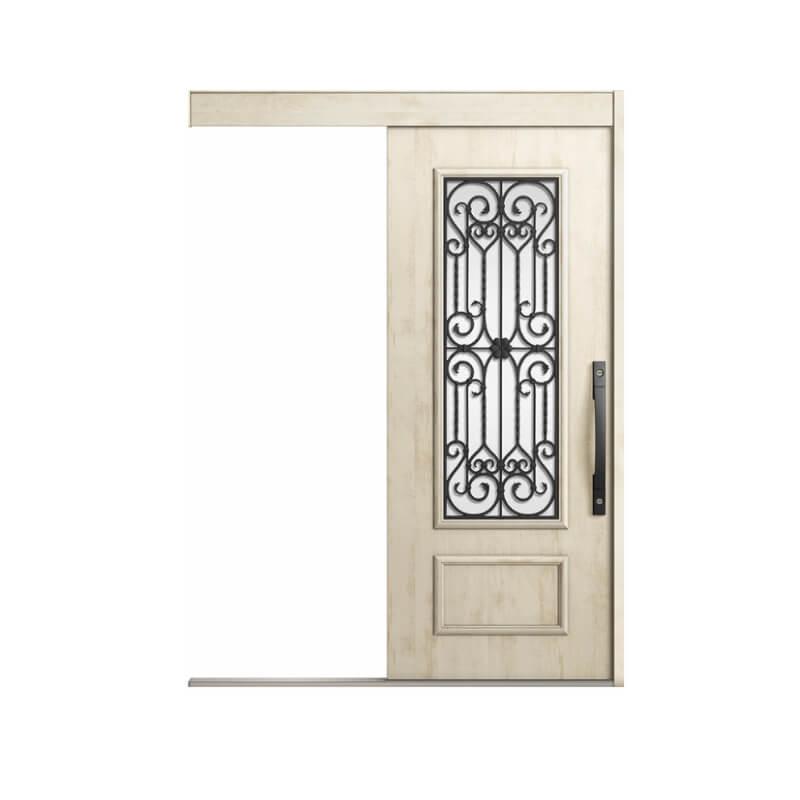 玄関引戸 リクシル エルムーブ2 L63型 一本引き 本体鋼板仕様 呼称W166 W1660×H2150mm 玄関引き戸 LIXIL/TOSTEM トステム 玄関ドア サッシ リフォーム DIY kenzai