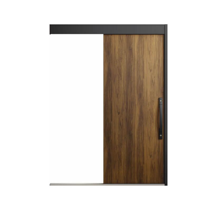 玄関引戸 リクシル エルムーブ2防火戸 L16型(アルミ枠) 一本引き 本体鋼板仕様 呼称W160 W1608×H2150mm 玄関引き戸 LIXIL/TOSTEM トステム 玄関ドア kenzai