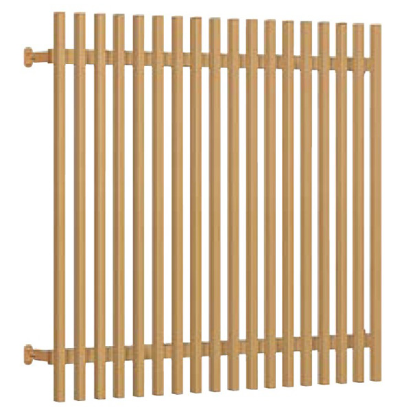 【5%OFF】 面格子 壁付 kenzai:建材百貨店 リクシル花伝・やまと【窓格子】【アルミ面格子】【防犯】【窓】【通風】【換気】 和風面格子 LIXIL/TOSTEM W1456*H1220 12811-木材・建築資材・設備