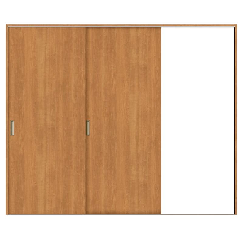 建具 室内引戸 TA Vレール方式 ノンケーシング枠 片引戸 2枚建/EAA(パネルタイプ) 2420 リクシル トステム ドア 交換 リフォーム DIY kenzaih