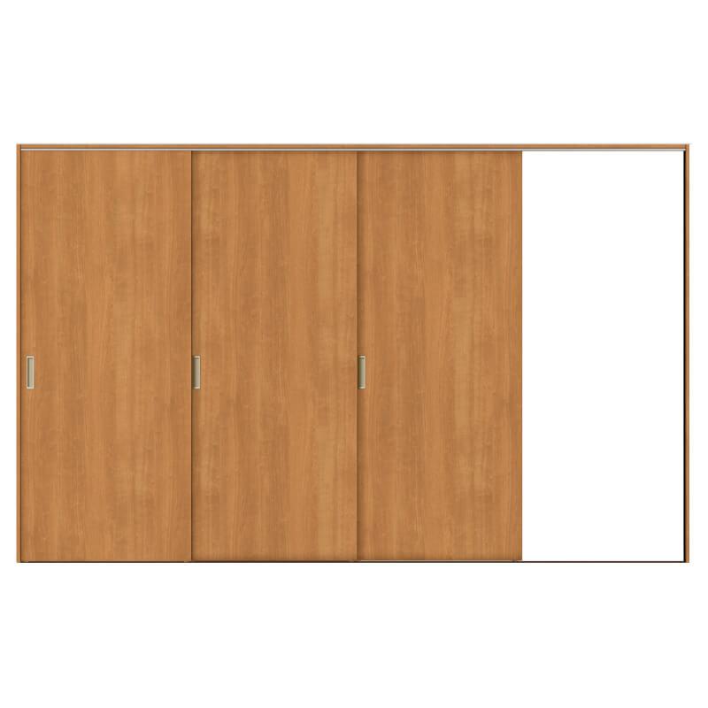 建具 室内引戸 TA Vレール方式 ノンケーシング枠 片引戸 3枚建/EAA(パネルタイプ) 3220 リクシル トステム ドア 交換 リフォーム DIY kenzaih