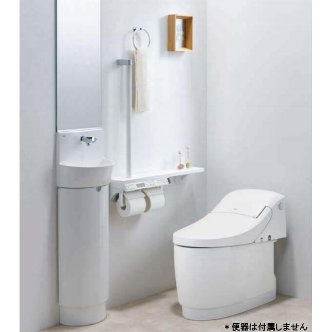 狭いトイレにも使いやすいベーシックな手洗いキャビネット トイレ手洗 コンパクト手洗キャビネット セール特別価格 L-D203SCHE WAA kenzai リクシル LIXIL ハンドル水栓 新着