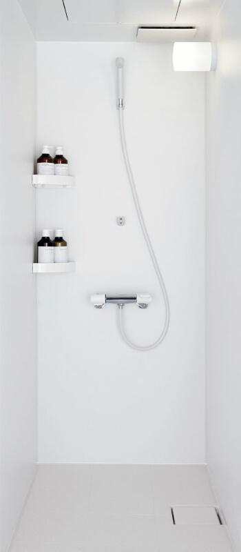 集合住宅用シャワーユニットSP ビルトインタイプ EL0812(プランSU08A)SPB-0812LBEL-A+H(C)RC Lパネル(マット)ホワイト/LE301 LIXIL リクシル kenzai