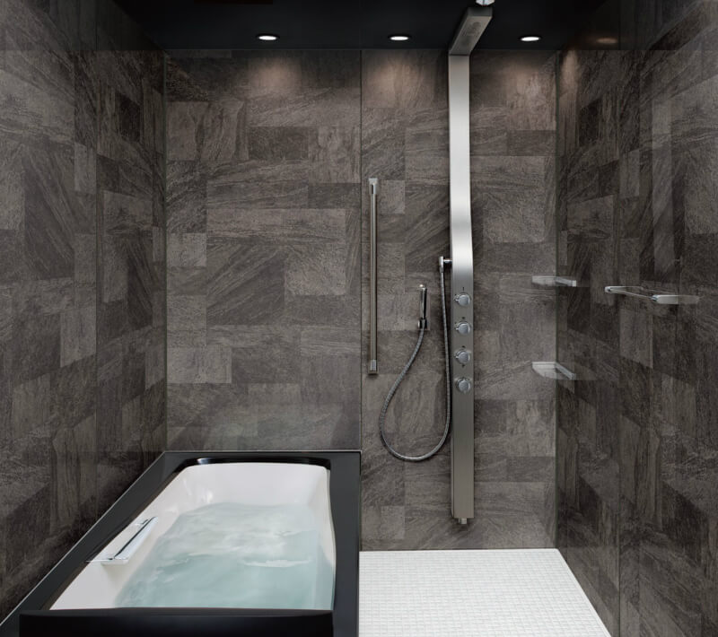 システムバスルーム スパージュ PXタイプ 1318(1300mm×1800mm) サイズ 全面張り 戸建1階用ユニットバス リクシル LIXIL 高級 浴槽 浴室 お風呂 リフォーム kenzai