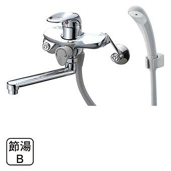 三栄水栓 シングルシャワー混合栓寒冷地仕様 SK1710K