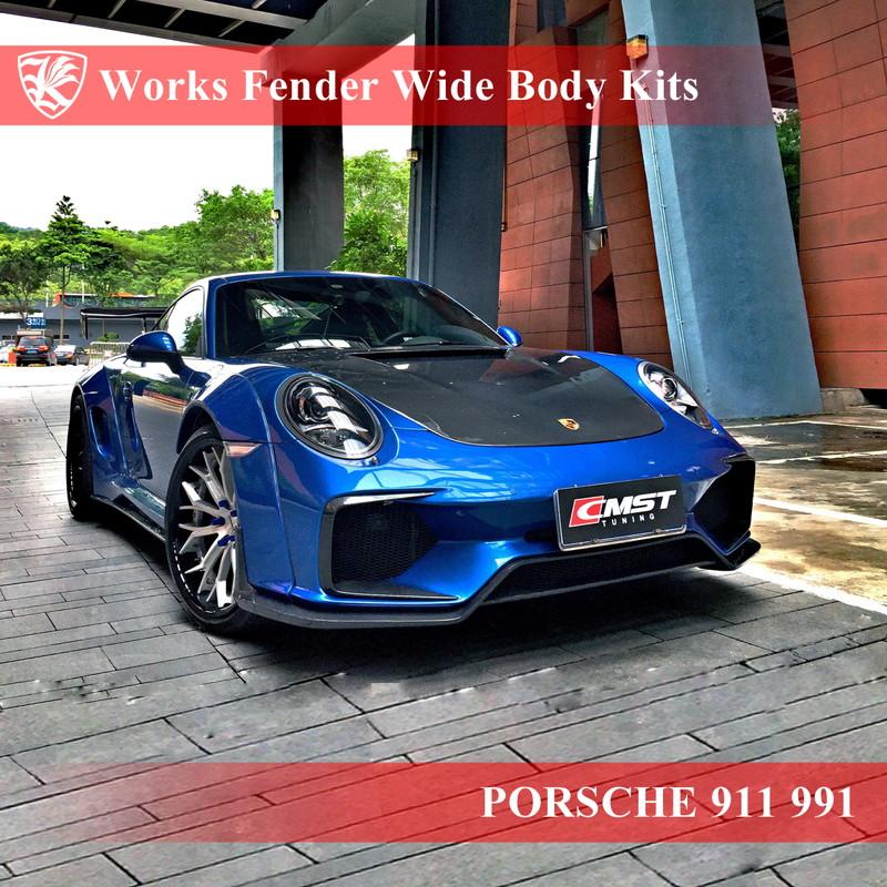 人気商品は PORSCHE 911 991 前期 Kerberos K'sスタイル ワークスフェンダーワイドボディキット, 快適家電 デジタルライフ 87de0924