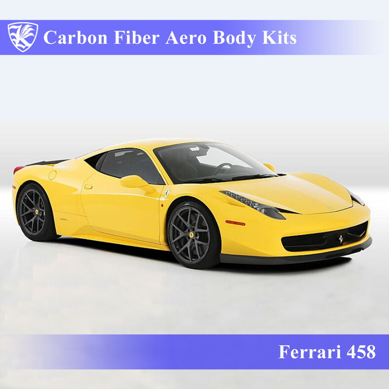 Ferrari 458 Kerberos K'sスタイル 3D Real Carbon カーボンファイバーボディキット 9点キット