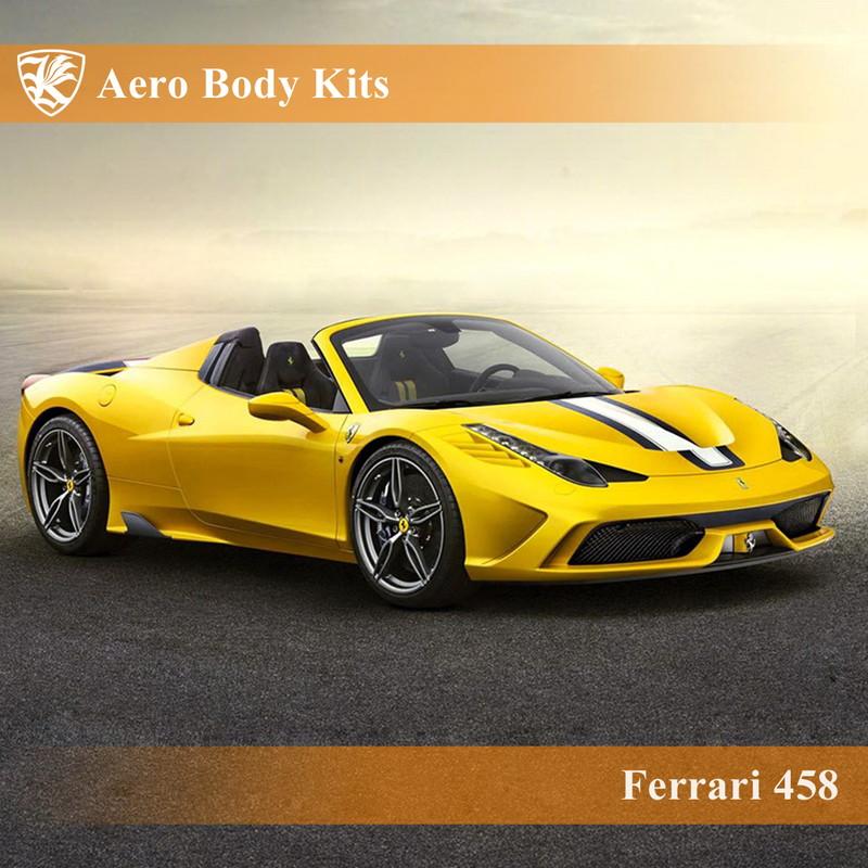 Ferrari 458 Kerberos スペチアーレルック エアロボディキット(ボンネット&フロントバンパー) 【AK-21-022/023】