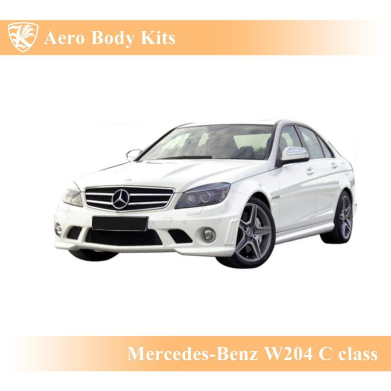 """Mercedes-Benz W204 Cクラス セダン(4ドア) 前期 Kerberos K""""sスタイル PP エアロボディキット 4点キット"""
