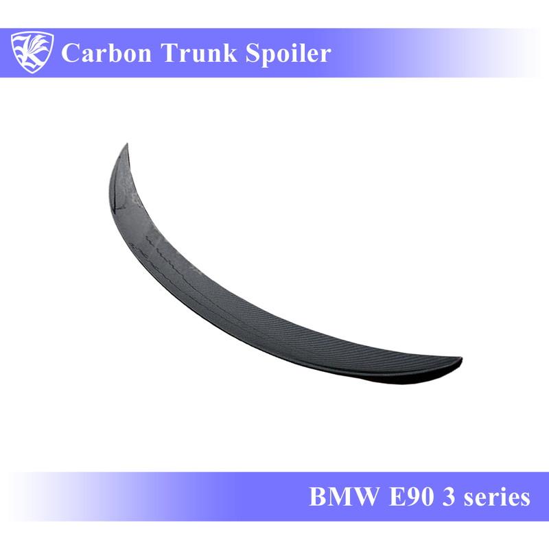 BMW E90 3シリーズ Kerberos K'sスタイル 3D Matte Real Carbon マットカーボントランクスポイラー Cタイプ 【AK-1-022】