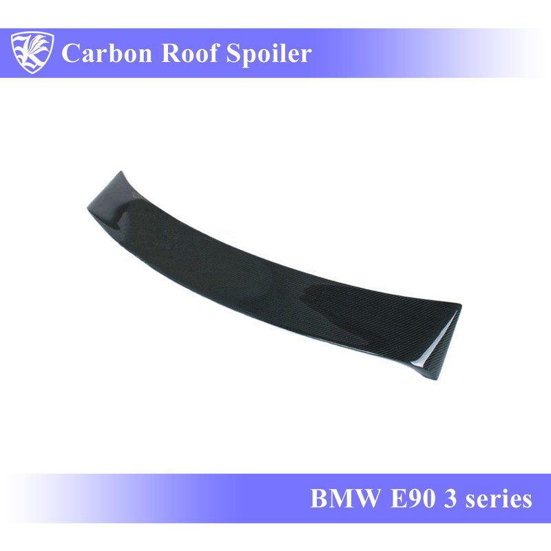 BMW E90 3シリーズ Kerberos K'sスタイル 3D Matte Real Carbon マットカーボンルーフスポイラー 【AK-1-033】