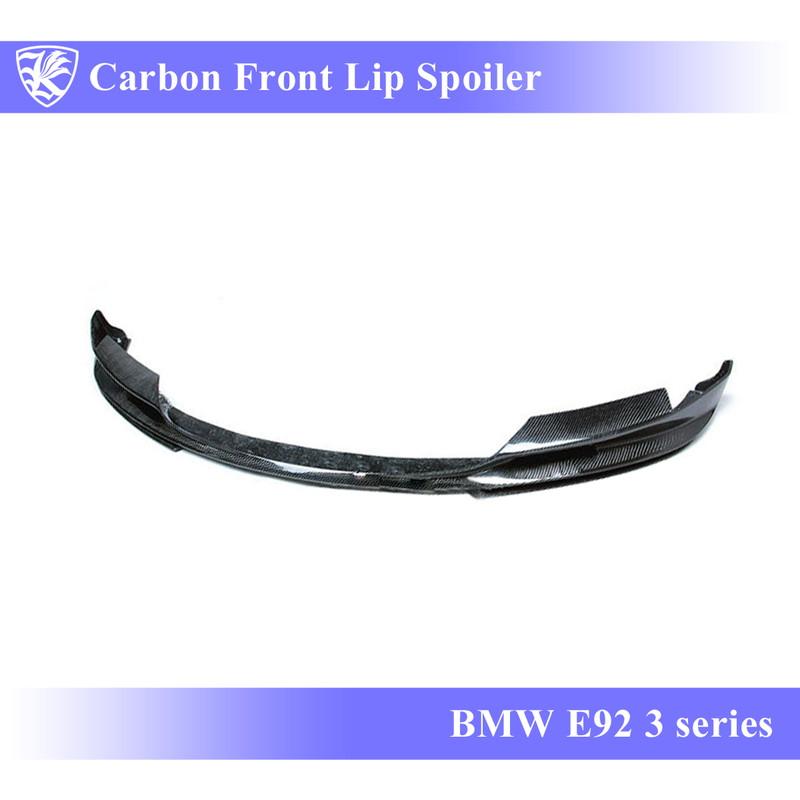 BMW E92 3シリーズ Kerberos K'sスタイル K'sエアロAタイプ専用 3D Matte Real Carbon マットカーボンフロントリップスポイラー A 【AK-1-052】