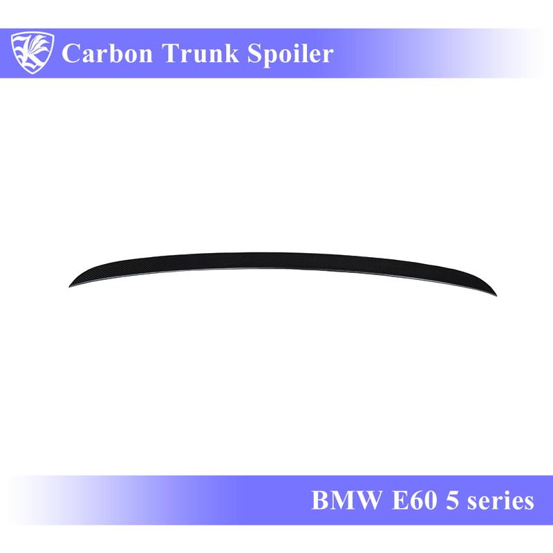 BMW E60 5シリーズ Kerberos K'sスタイル 3D Real Carbon カーボントランクスポイラー 【AK-1-069】