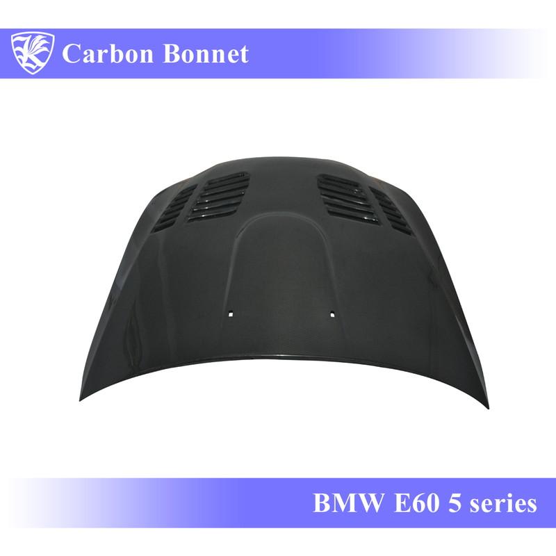 BMW Real K'sスタイル Bタイプ E60 マットカーボンエアスクープボンネット Matte 【AK-1-071】 3D Carbon 5シリーズ Kerberos