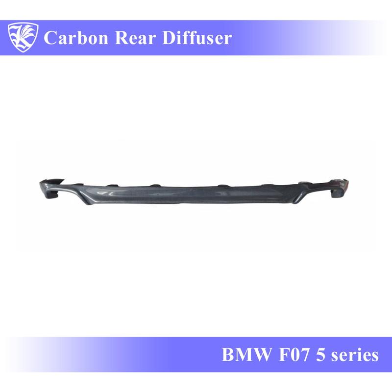BMW F07 5シリーズ GT Kerberos K'sスタイル 3D Matte Real Carbon マットカーボンリアディフューザー 【AK-1-101】