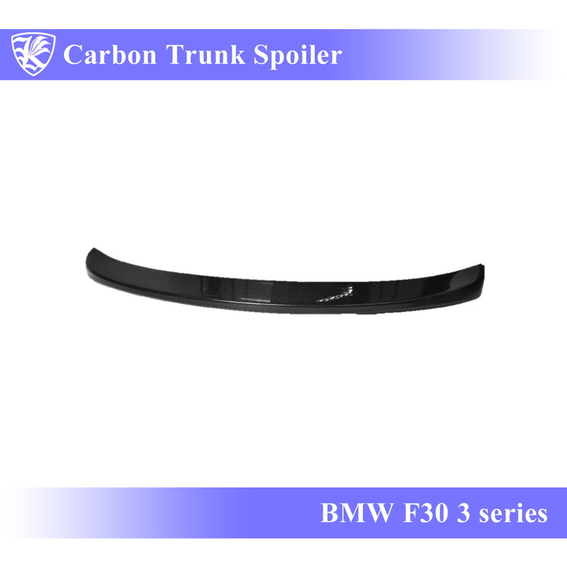 BMW F30 3シリーズ Kerberos K'sスタイル 3D Matte Real Carbon マットカーボントランクスポイラー Bタイプ 【AK-1-109】
