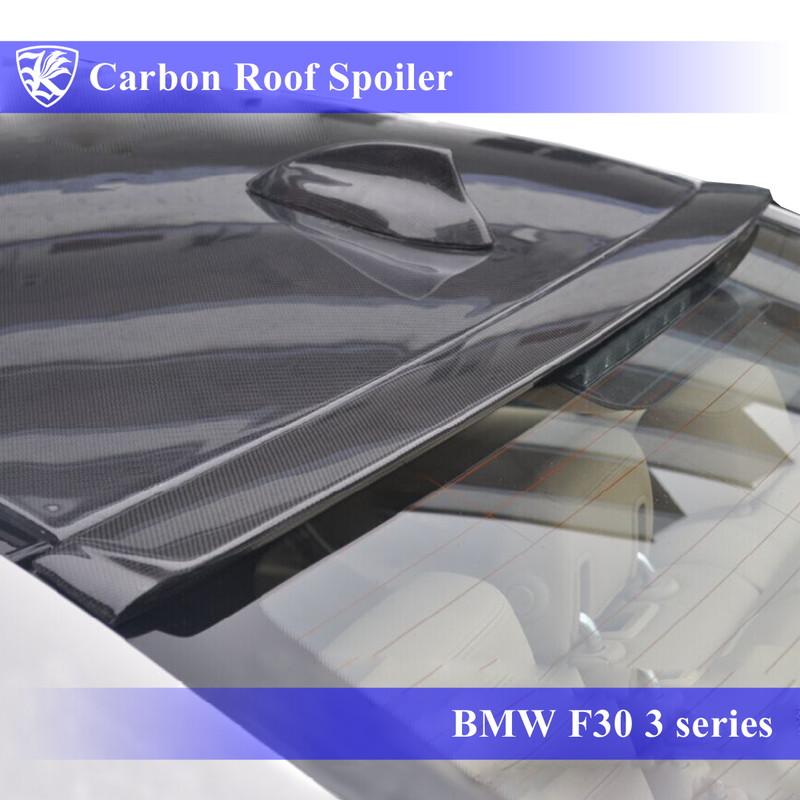 BMW F30 3シリーズ Kerberos K'sスタイル 3D Real Carbon カーボンルーフスポイラー 【AK-1-110】
