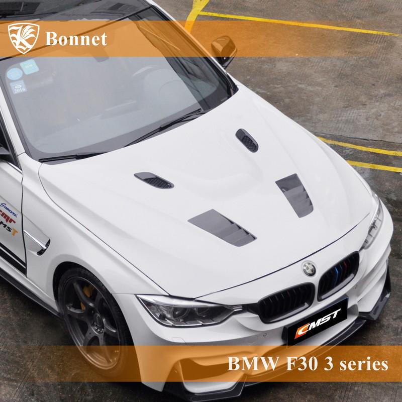 BMW F30 3シリーズ Kerberos K'sスタイル FRP エアスクープボンネット Bタイプ 【AK-1-163】