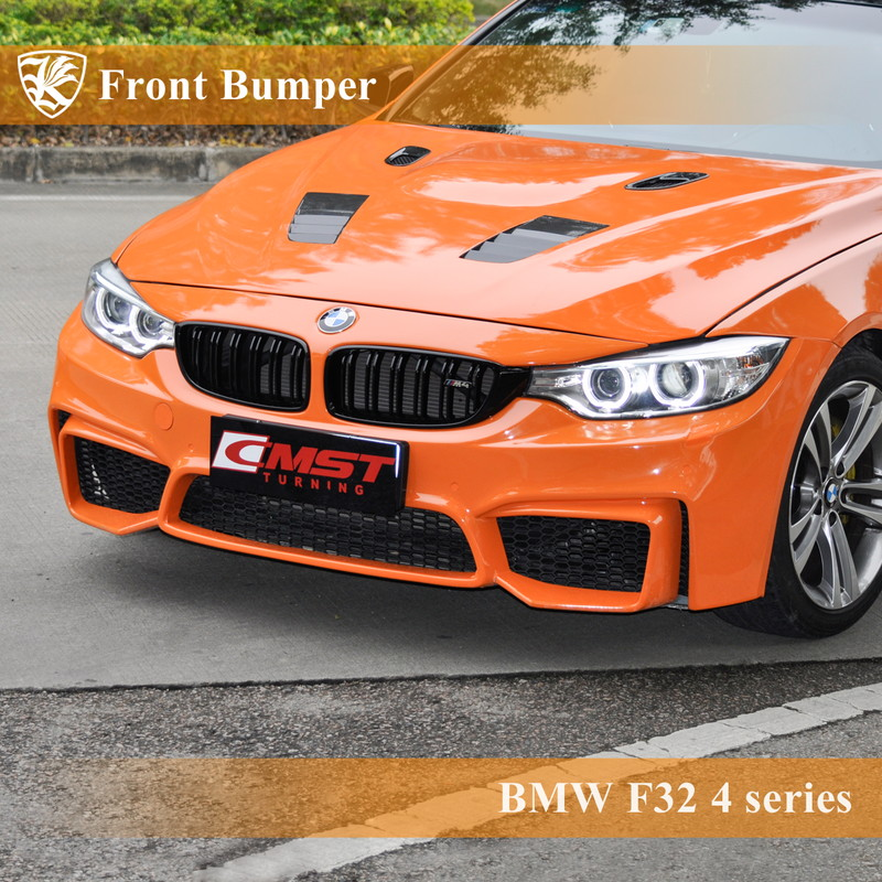 BMW F32 前期 420i/428i/430i/435i Kerberos K'sスタイル FRP フロントバンパー 【AK-1-263】
