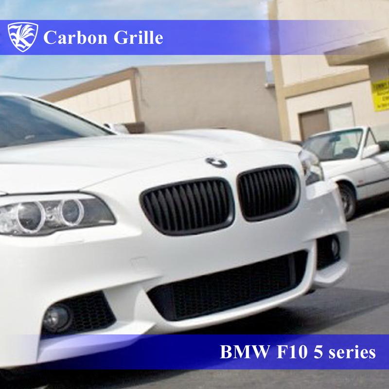 BMW F10 5シリーズ Kerberos K'sスタイル 3D Real Carbon カーボンキドニーグリル 左右セット
