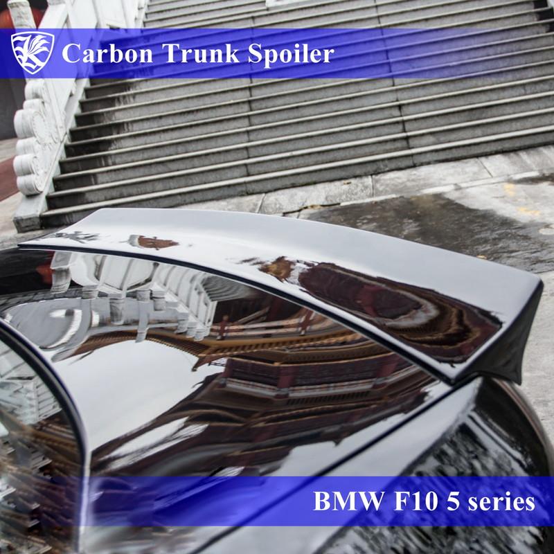 BMW F10 5シリーズ Kerberos K'sスタイル 3D Real Carbon カーボンダックテールトランクスポイラー
