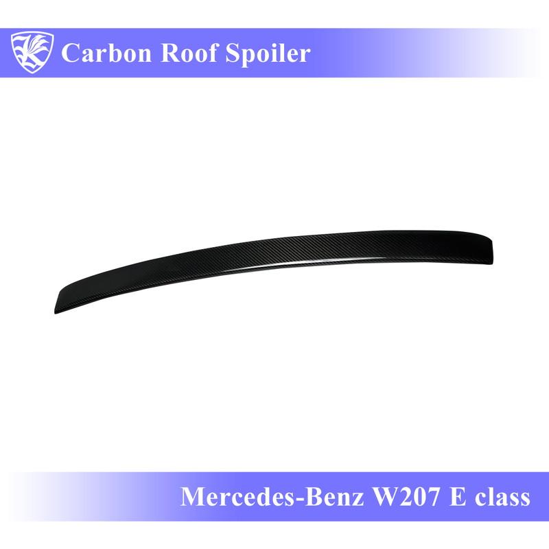 Mercedes-Benz W207 Eクラス 前期 Kerberos K'sスタイル 3D Real Carbon カーボンルーフスポイラー 【AK-2-081】