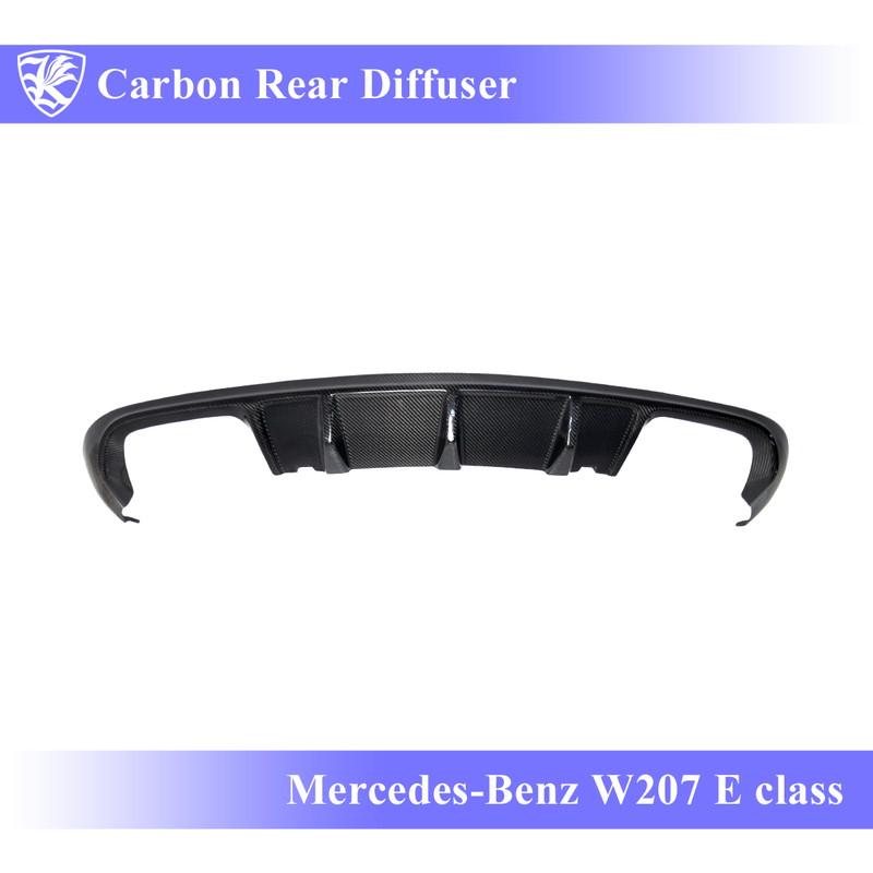 "Mercedes-Benz W207 Eクラス 前期(09-11) Kerberos K""sスタイル 3D Real Carbon カーボンリアディフューザー 【AK-2-084】"