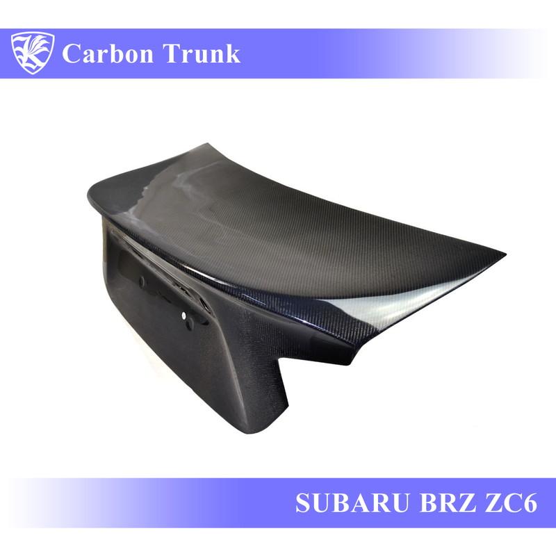 SUBARU BRZ ZC6 前期 Kerberos K'sスタイル 3D Real Carbon カーボントランク OEMタイプ 【AK-13-092】