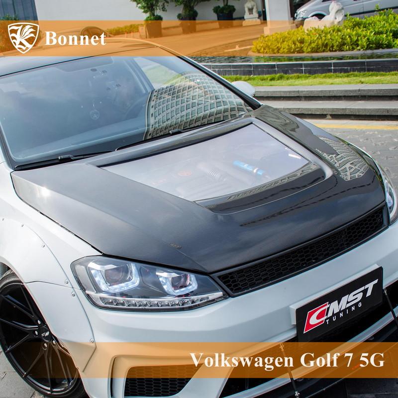 Volkswagen ゴルフ7 5G 前期 Kerberos K'sスタイル FRP ボンネット 【AK-15-063】