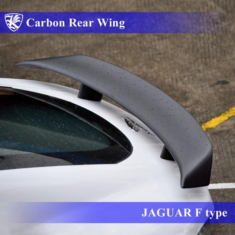 JAGUAR F-type Kerberos K'sスタイル 3D Real Carbon カーボンリアウィング 【AK-22-005】