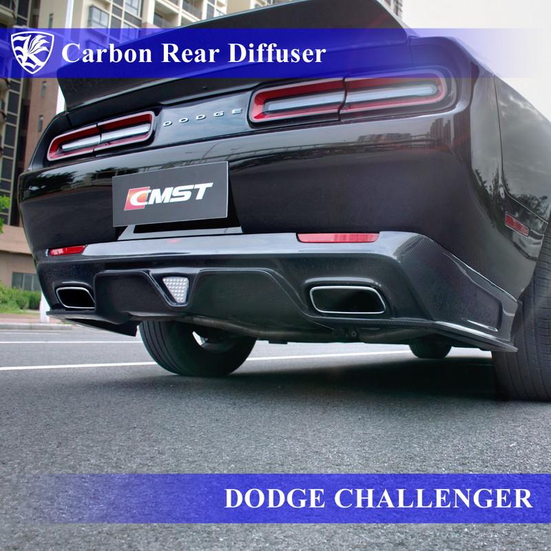 【 開梱 設置?無料 】 DODGE チャレンジャー 2015年モデル Kerberos K'sスタイル 3D Real Carbon Real カーボンリアディフューザー 【AK-29-003】, 【T-on】ティーオン:ab15d430 --- learningcentre.co