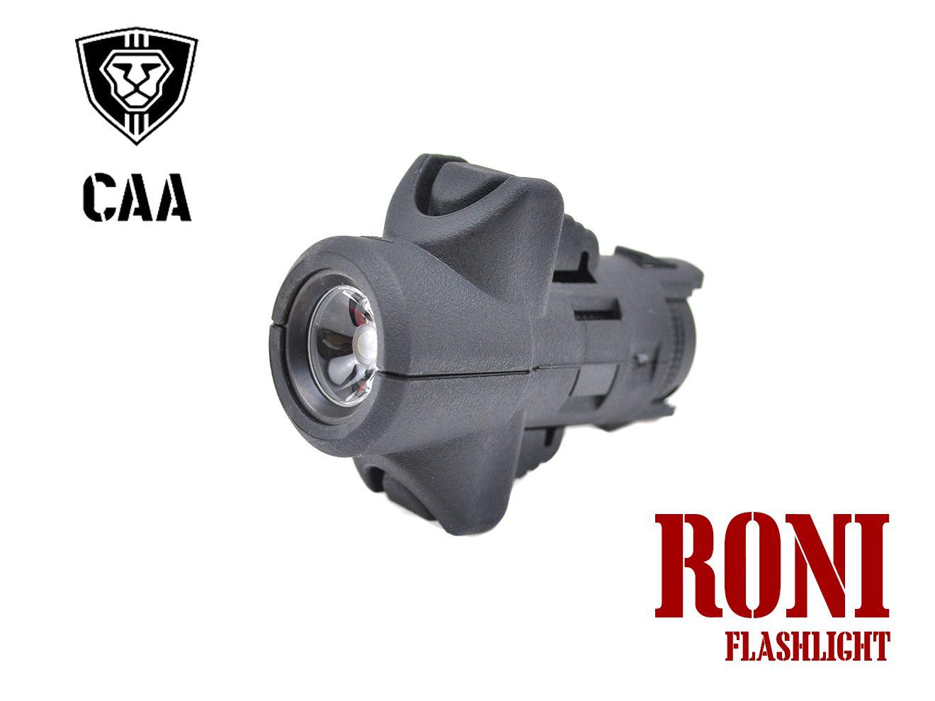 CAA Airsoft Micro RONI G17対応 フラッシュライト BK