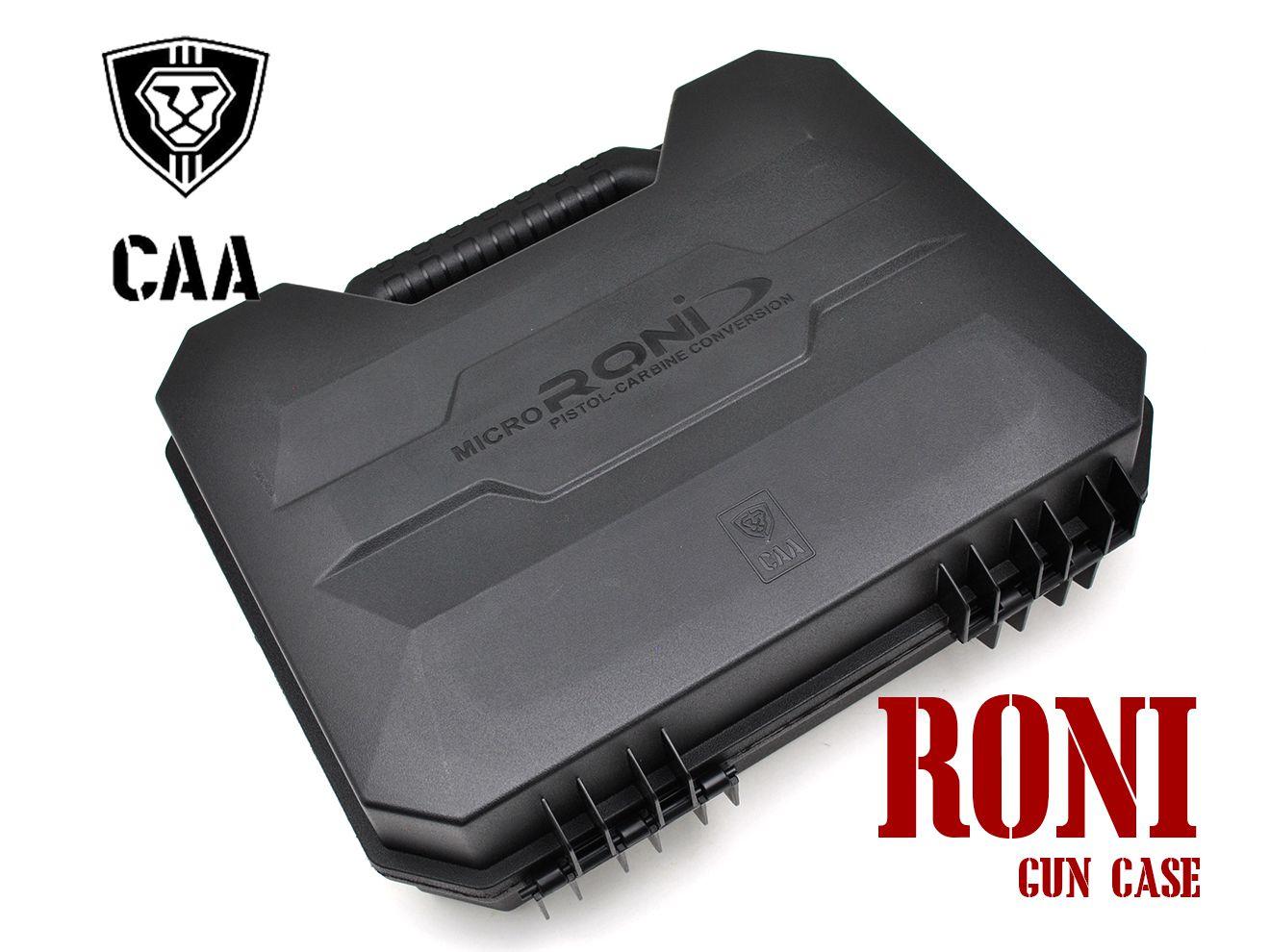 CAA Airsoft Micro RONI ハンドガン ガンケース BK★ピストルケース GLOCK M92F M9A1 P226 HK SIG