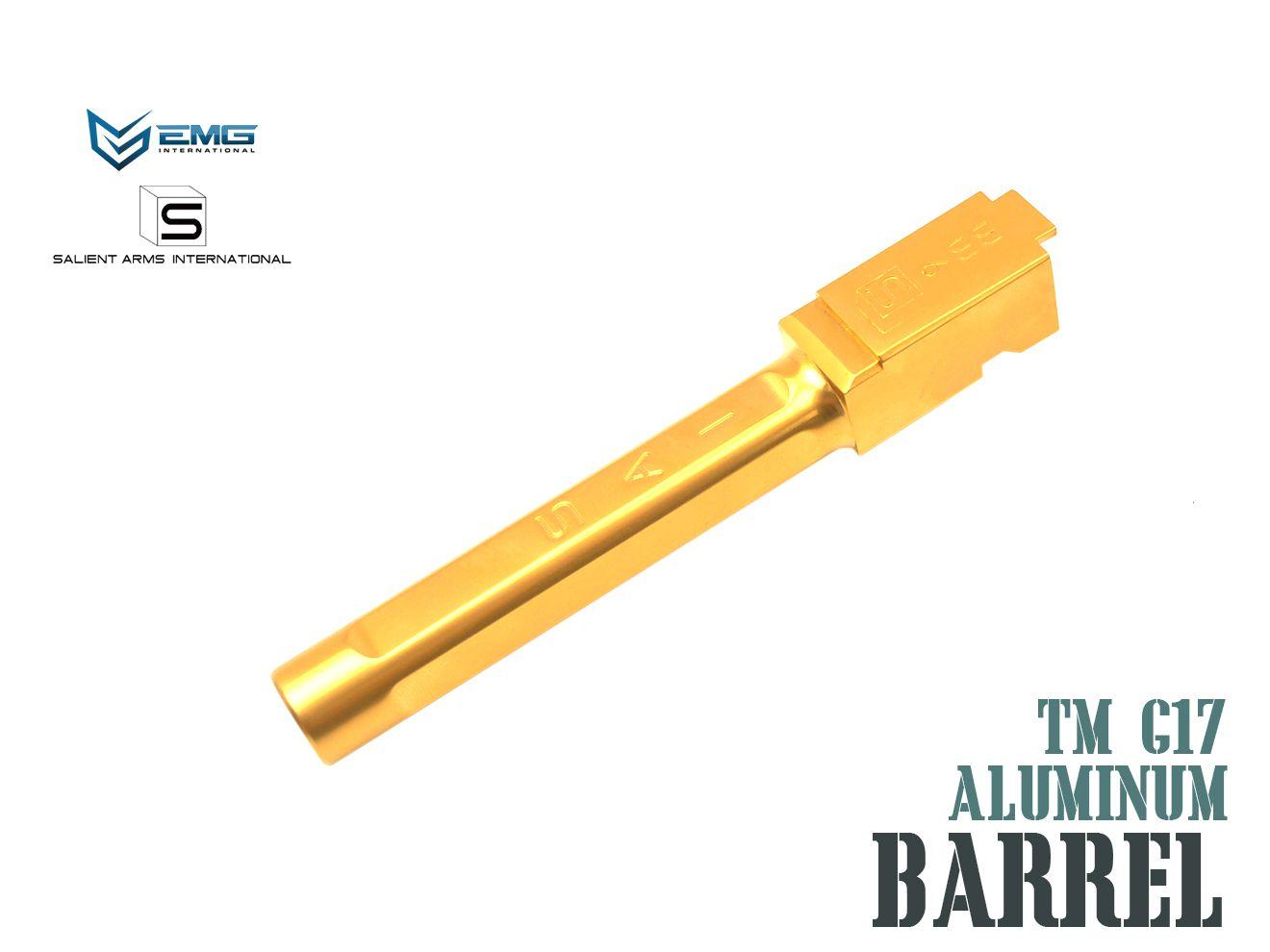 EMG SAI BLU アウターバレル For TM G17 Salient Arms 高級 International GLOCK マーケット ハンドガン GOLD ゴールド グロック 東京マルイ サイ GBB ガスブロ
