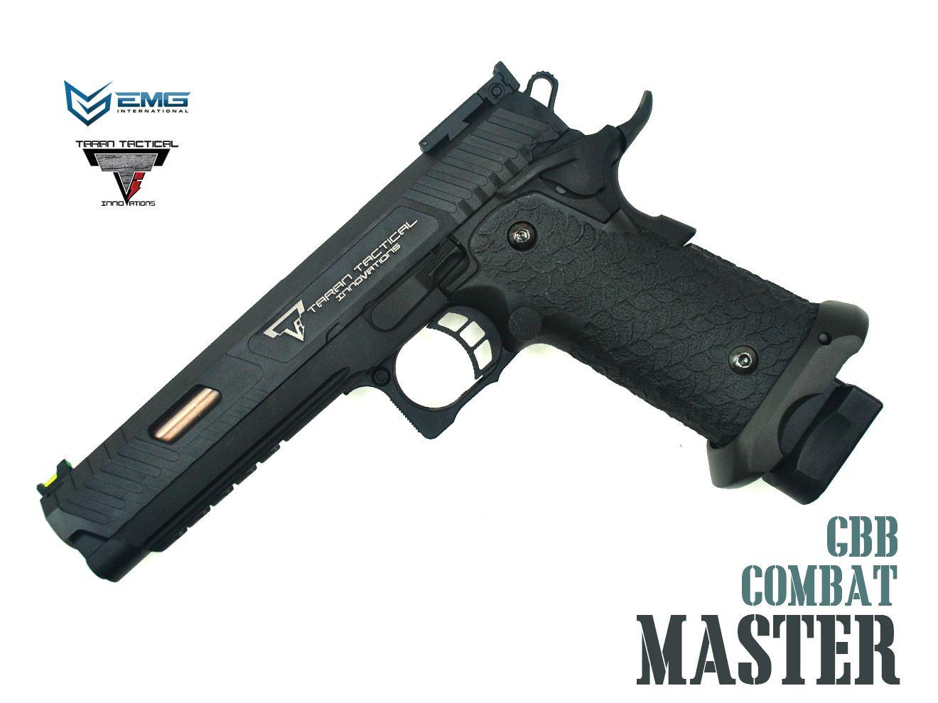 EMG いよいよ人気ブランド TTI 2011 コンバットマスター Standard 実銃ブランド ライセンス ガスブロ MASTER ハイキャパ COMBAT Hi-CAPA 11mm正ネジ 東京マルイ ガスガン 在庫一掃売り切りセール
