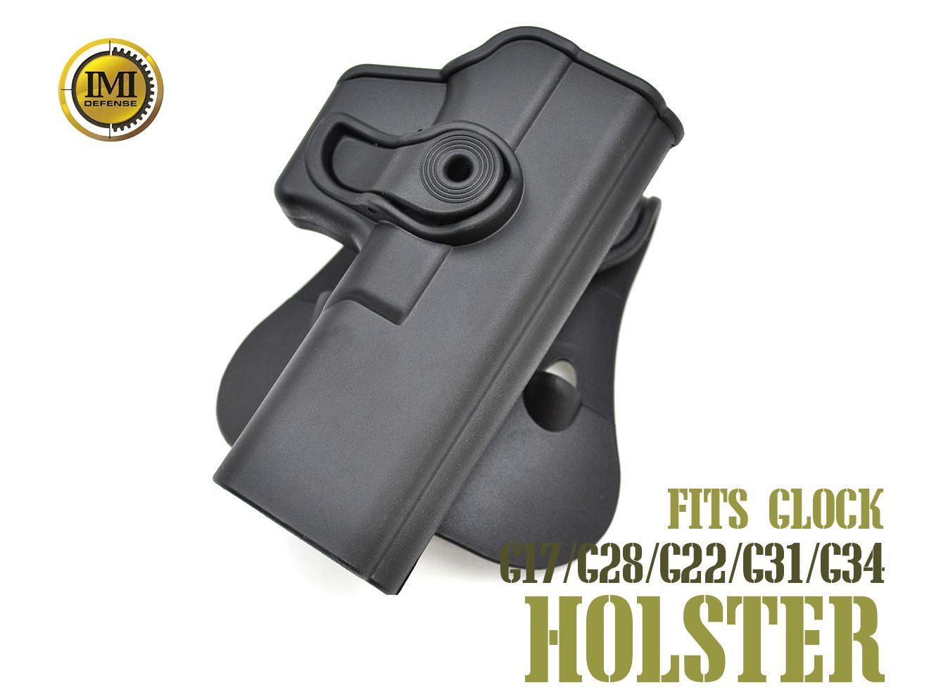 IMI DEFENSE パドルホルスター for G17/G28/G22/G31/G34 右用 BK★G17 G28 G22 G31 G34 右用 ライトハンド 右利き