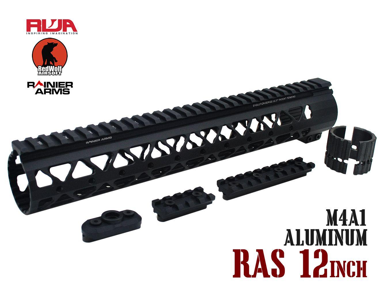RWA Samson Rainier Arms ハンドガード 12インチ★レッドウルフ RED WOLF RAS レールシステム M4A1 MWS