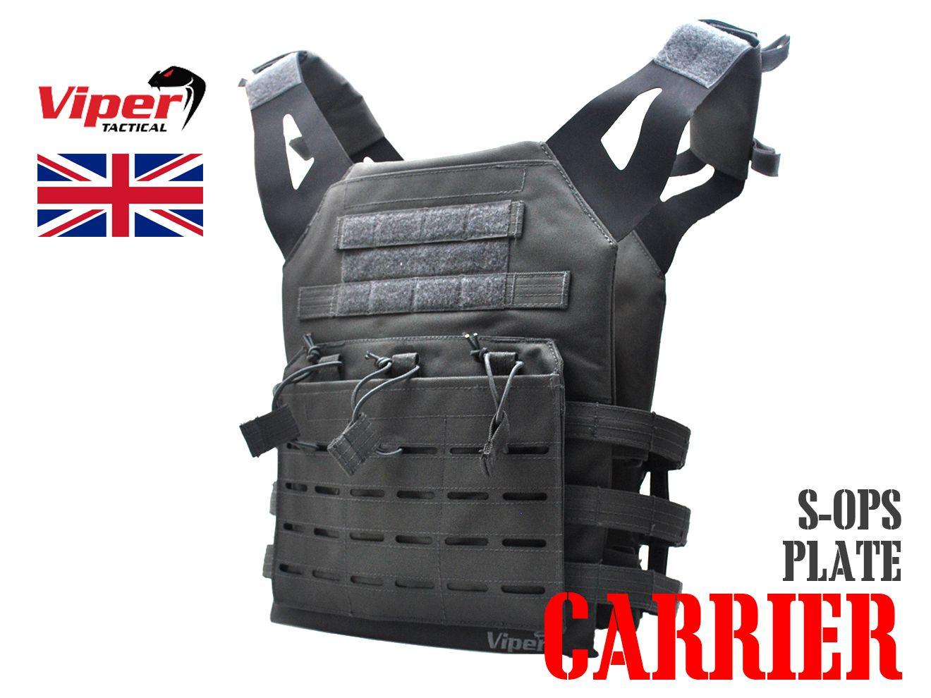 VIPER SPECIAL OPS プレートキャリア GRAY★バイパー UK タクティカルベスト プレキャリ 防具