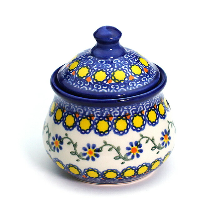 Ceramika Artystyczna VENA 予約 ヴェナ 社製 陶器 V014-U113 シュガーポット ポーランド食器 ポーリッシュポタリー 送料無料