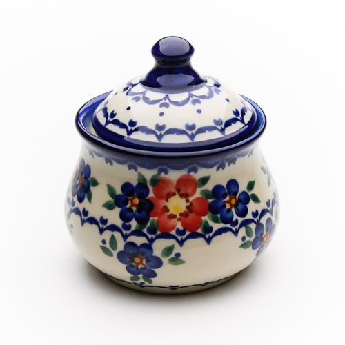 Ceramika 半額 Artystyczna VENA ヴェナ 社製 ポーランド食器 V014-U072 セール価格 陶器 シュガーポット ポーリッシュポタリー