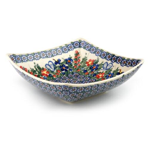 タフィーボウル20×20cm[V161-A001]【ポーリッシュポタリー[ポーランド食器・陶器]】